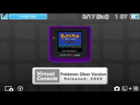 Pokemon Gold and Silver Virtual Console Time Capsule Trading with Pokemon Yellow