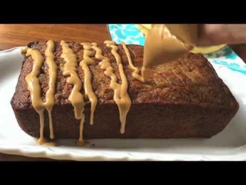 Peanut Butter Cup Banana Bread