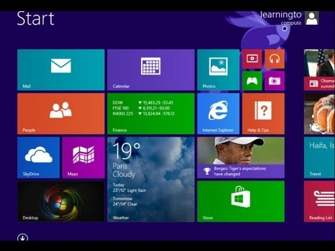 Windows 8 / 8.1: Change Desktop Background
