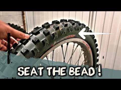 How To Seat A Dirt Bike Tire Bead