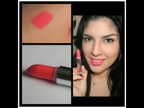 ♥First Impressions - Maybelline Vivids Lipstick in Shocking Coral by Lyovera1♥