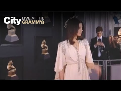 Lana Del Ray in Gucci | City LIVE at the GRAMMYs