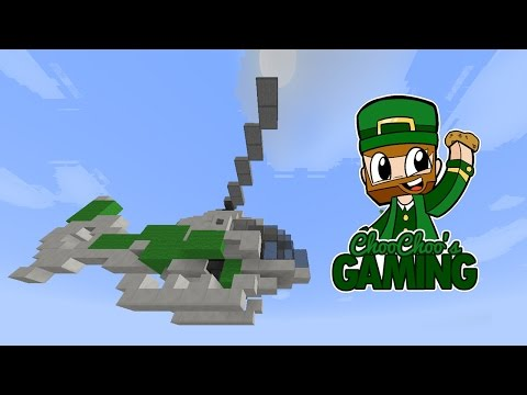 Minecraft Helicopter Tutorial - Maverick from GTA in 1 minute