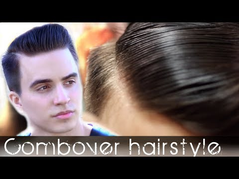 Comb Over Men's Hair | Classic Hairstyle Tutorial | Slikhaar TV