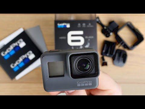 GoPro HERO 6 Black // Unboxing + Erster Test (Video+Audio) // DEUTSCH