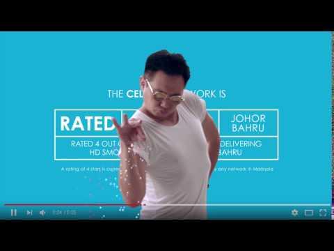 Celcom YouTube Video Check Up Johor Bahru