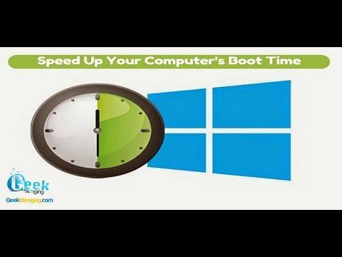 How to Speed Up Your Computer's StartUP Time !