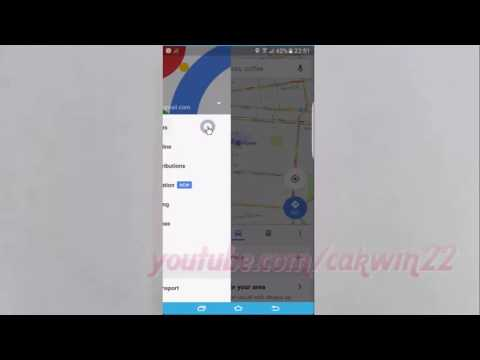 Samsung Galaxy S7 Edge : How to Change Home address icon in Google Maps (Android Marshmallow)