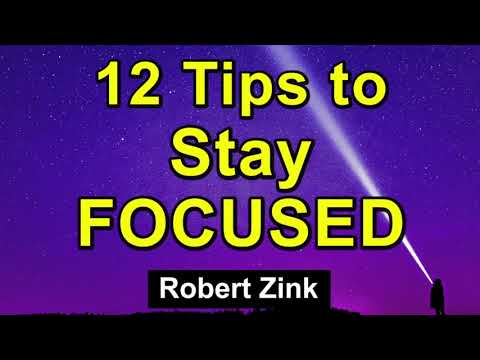 12 Tips to Increase Your Focus, Success, and the Law of Attraction