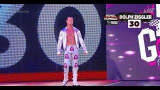 #royalrumble Dolph Ziggler RETURNS Royal Rumble 2018 WWE