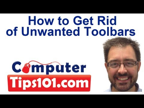 How to Get Rid of Unwanted Toolbars