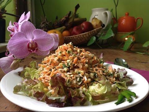 Mung Dal Salad ~ Ayurvedic Live Dish