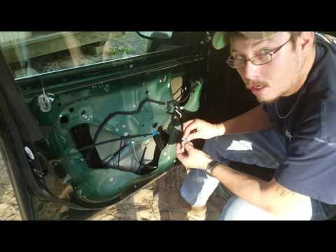 Window motor replacement in 2014 Chevy Cruze