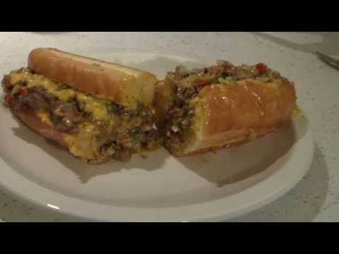 How to make a philly cheese steak sandwich