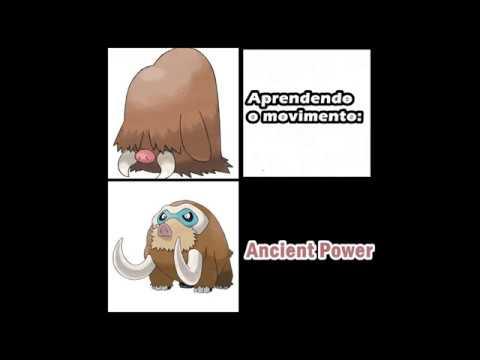 Forma de Evolução - #08 - Os Pokémon que evoluem após aprender um determinado  movimento