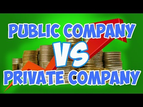 Public vs  Private Companies - What's the difference between a public and private company?