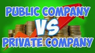 Public vs  Private Companies - What