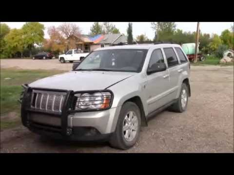 2008 Jeep Grand Cherokee, 3.0L Alternator belt Removal and Replacement