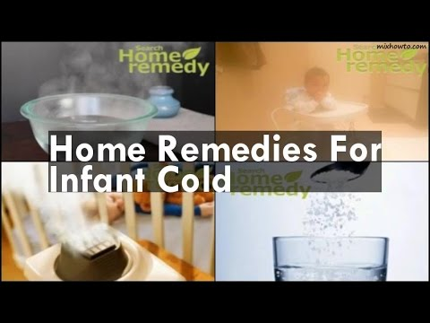 Home Remedies For Infant Cold