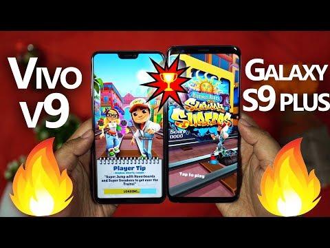 VIVO V9 vs GALAXY S9 PLUS - 🔥 Speed Test!! 🔥 IT'S CRAZZZY!!