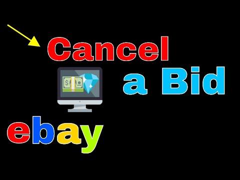 How do I Cancel A bid On eBay | eBay Buyer | Get Fixed
