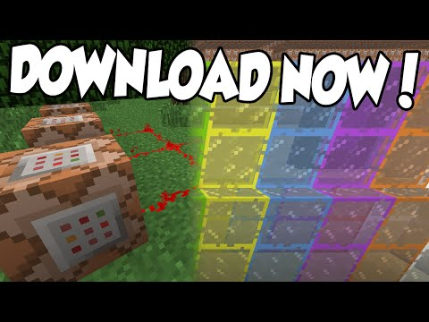 Minecraft XBOX - TU19 COMMAND BLOCK & STAINED GLASS (MAP DOWNLOAD)