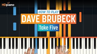 "How To Play ""take Five"" By Dave Brubeck & Paul Desmond 