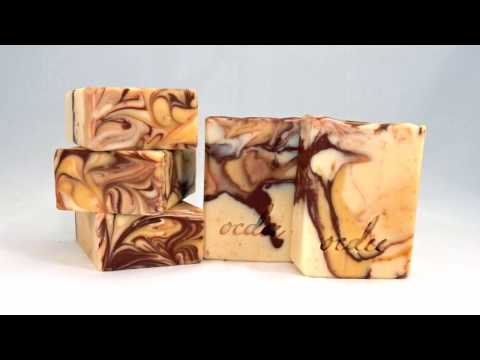 Making Oatmeal, Milk & Honey Artisan Soap