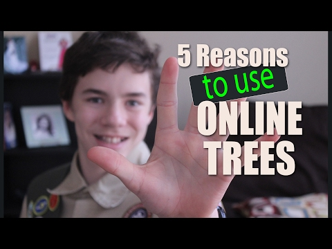 Put Your Family Tree Online