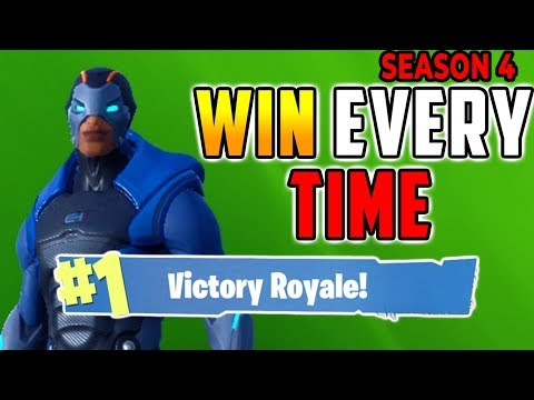 HOW TO WIN EVERY TIME (Easy Solo) Fortnite Battle Royale Tips Season 4 - Xbox, PS4, PC