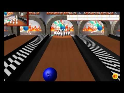 Unity Game: Bowling in Royal 3D