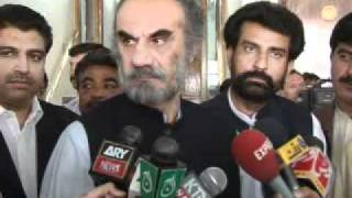 CM Baluchistan Nawab Aslam Raisani is very funny  reported by Muhammad Shahzad Ali