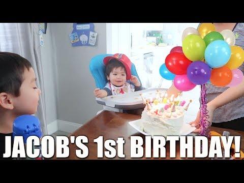 JACOB'S FIRST BIRTHDAY!