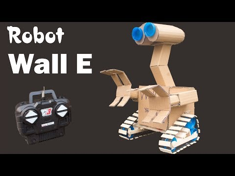 How to make Remote Control Robot Wall E from Cardboard | Very Easy | Creative Love