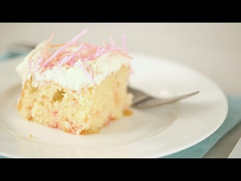 Confetti Cake with Homemade Sprinkles- Sweet Talk with Lindsay Strand