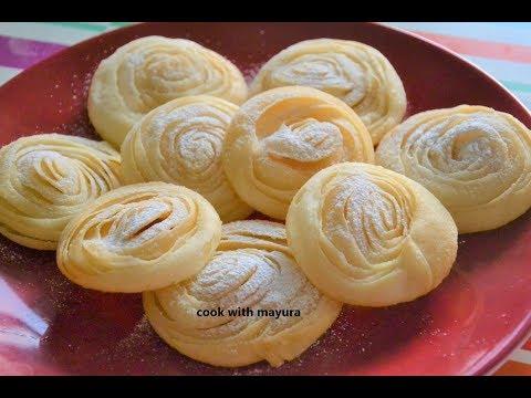 चिरोटे | Chirote | How to make chirote | Diwali faral recipe