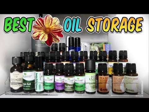 The Best Essential Oil Storage