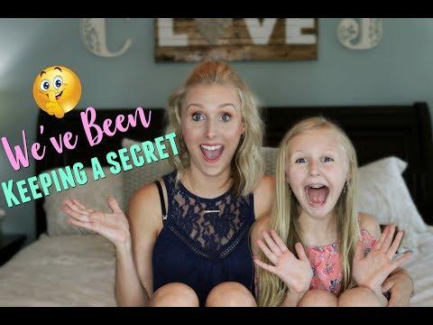 WE'VE BEEN KEEPING A HUGE SECRET!!!!