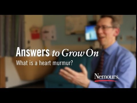 What is a Heart Murmur? - Nemours Answers to Grow On