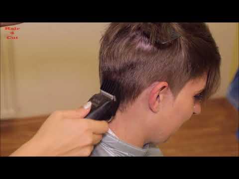 2017-41 Lenka preview - waist long hair cut very short