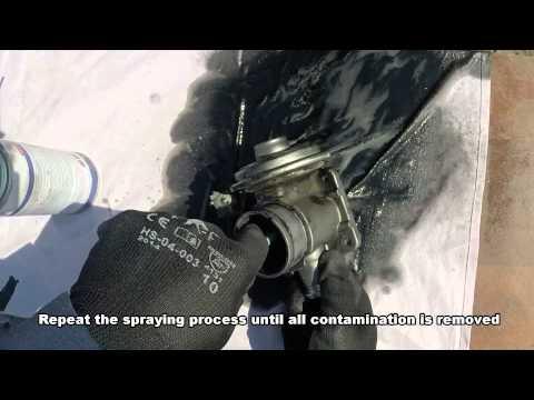 How to clean EGR valve BMW e46
