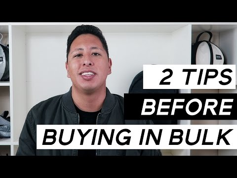 How To Start A Clothing Line | 2 Tips Before Buying In Bulk