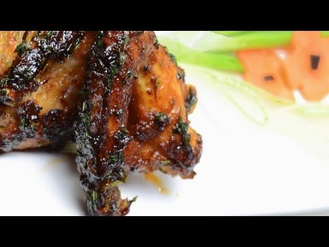 Spicy Honey Chicken Wings - By VahChef @ VahRehVah.com
