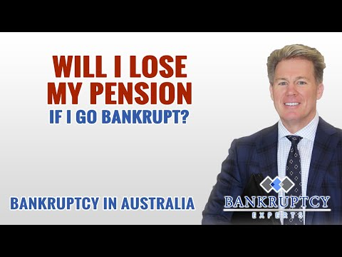 Will I Lose my Pension or Workers Comp Payments when I go Bankrupt in Australia?
