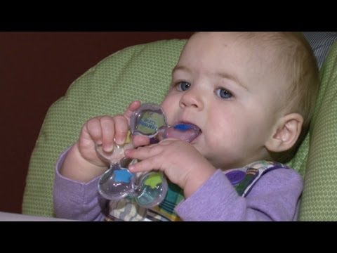 How teething affects baby.