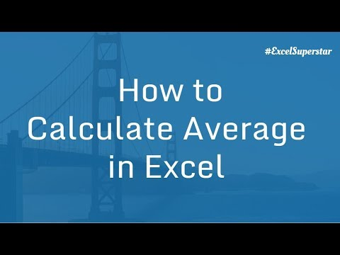 Average formula in Excel | Excel in Hindi