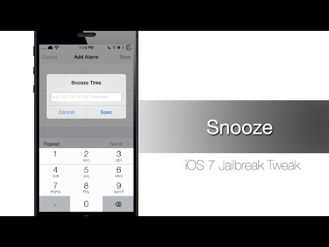 Snooze lets you customize your snooze times - iPhone Hacks