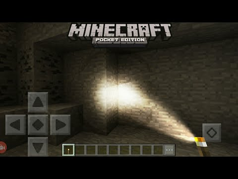 MCPE 1.2 How To Get Realistic Torch