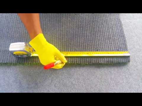 How To Install Grass Carpet With Nails