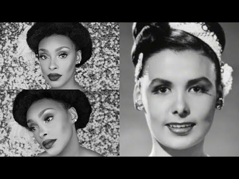 HOW TO SLAY LIKE A BLACK HISTORY ICON: LENA HORNE INSPIRED HAIR AND MAKEUP TUTORIAL